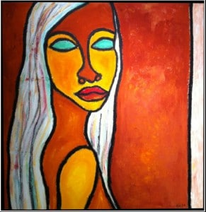 Woman Looking Back, Dana Brotman